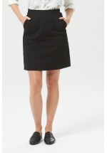 Sugarhill Boutique Daria Everyday A-Line Skirt (Black)