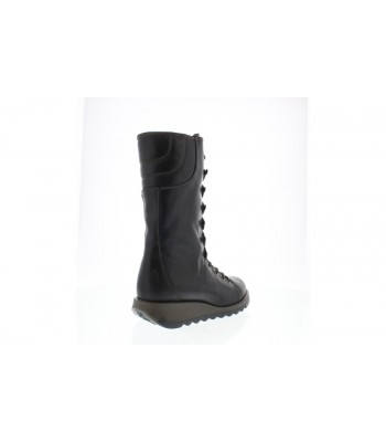Fly London Ster768fly Midi Boots (Rug Black)