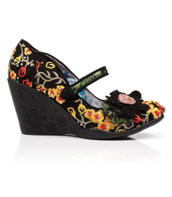 Irregular Choice Blossom Bloom (Black Multi)
