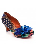 Poetic Licence for Irregular Choice Bay Breeze (Blue Multi)