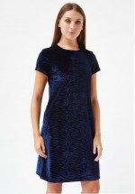 Traffic People We HEART Lauren Hutton - Velvet Lauren Shift Dress