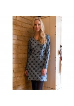 Brakeburn Honeycombe Dress