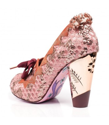 Irregular Choice Bubbles Gum (Pink)
