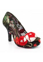 Irregular Choice Budding Beauty (Black)