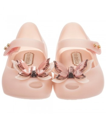 Mini Melissa Mini Ultragirl Butterfly (Blush Matte)