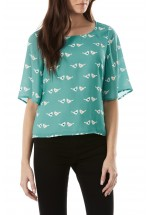 Sugarhill Boutique Calia Lovebird Top