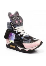 Irregular Choice Candy Jem (Black)