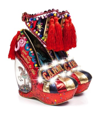 Irregular Choice You're Invited Limited Edition (Red Multi)