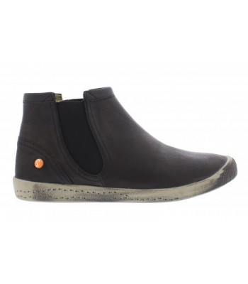 Fly London Womens Softinos Chelsea Boot ( Black )