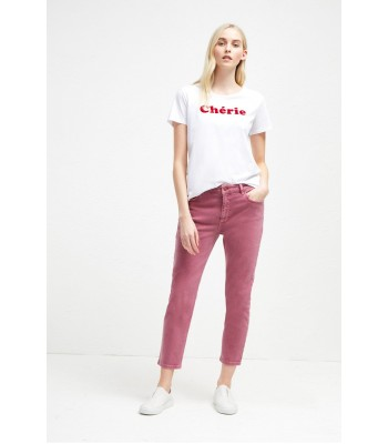 French Connection Cherie Slogan T-Shirt