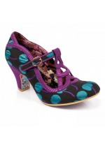 Irregular Choice Nicely Done (Black/Blue)