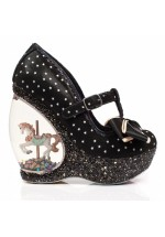 Irregular Choice Chestnut (Black)