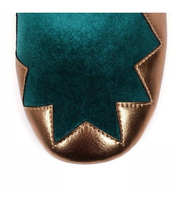 Poetic Licence for Irregular Choice Chevron (Green/Gold)