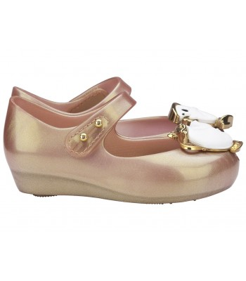 Mini Melissa Disney Shoes Mini Ultragirl Beauty Blush Tea Party