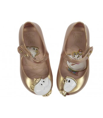 Mini Melissa Disney Shoes Mini Ultragirl Beauty Blush Tea Party