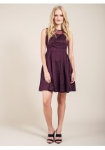 Darling Claris Sleeveless Party Dress Damson