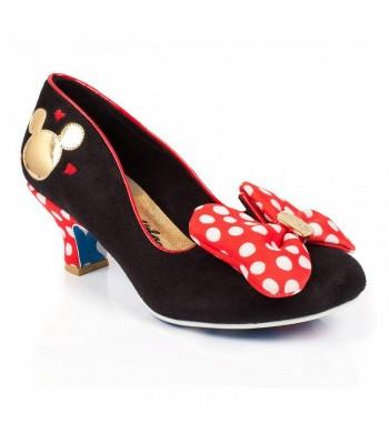 Irregular Choice Mickey and Friends Classic Minnie (Black)