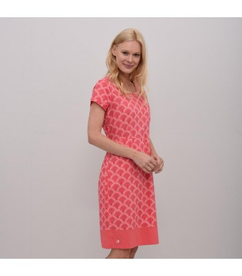 Brakeburn Shells Dress (Coral)
