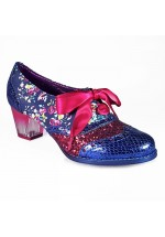 Poetic Licence for Irregular Choice Corporate Beauty (Navy/Crimson)