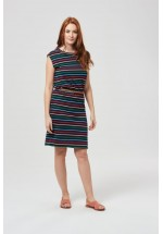 Sugarhill Boutique Brighton Hetty Multi Coloured Stripe Dress
