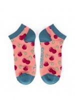 Powder New Cherries Trainer Socks (candy)