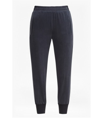 French Connection Washed Cupro Joggers (Black)