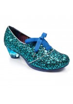 Irregular Choice Curio Low (Blue / Black)