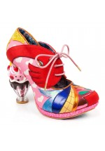Irregular Choice Deckchair Diva (Pink, Red, Yellow)
