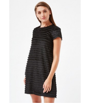 Traffic People Speak Easy - Maisie Tassel Shift Dress