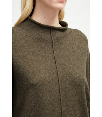 French Connection Ebba Vhari High Neck Jumper (Ocra)