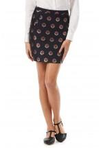 Sugarhill Boutique Evra Floral Love Skirt