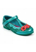 Irregular choice Kids Fairy Garden (Turquoise)