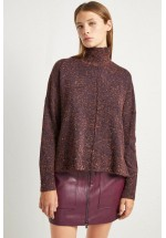 French Connection Farah Nep Mock Neck Jumper