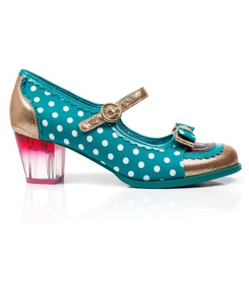 Poetic Licence for Irregular Choice Final Whistle (Teal)