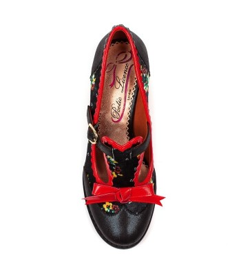 Poetic Licence for Irregular Choice Floral Feeling (Black)