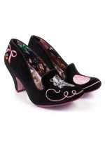Irregular Choice Fuzzy Peg (Black)