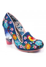 Irregular Choice Good Karma (Navy Multi)