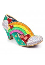 Irregular Choice Summer of Love (Green Multi)
