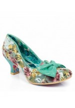 Irregular Choice Dazzle Razzle (Green Multi)
