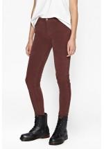 French Connection Hendrix Velvet Skinny Jeans