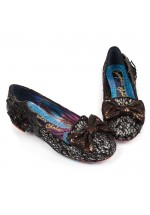 Irregular Choice Incy Wincy (Black) Halloween