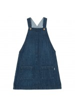 Kite Girl's Denim Pinafore