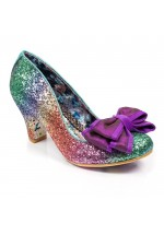 Irregular Choice Lady Ban Joe (Multi Glitter)