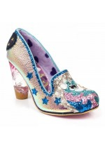 Irregular Choice Lady Misty (Gold/Pink)