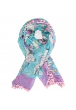 Irregular Choice Pom Pom Parade Scarf - Spring Lamb Print Print Limited Edition (Multi)
