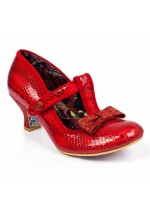 Irregular Choice Lazy River (Christmas Red)
