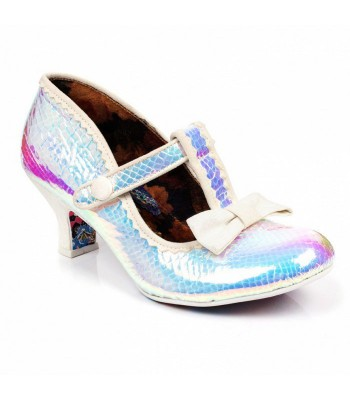 Irregular Choice Lazy River (White Irridescent)