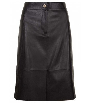 Traffic People Meet You Half Way Skirt in Black