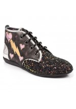 Irregular Choice Lightning Love (Black)