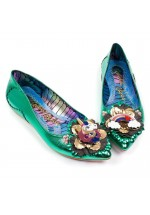 Irregular Choice Little Lady Daisy (Green)